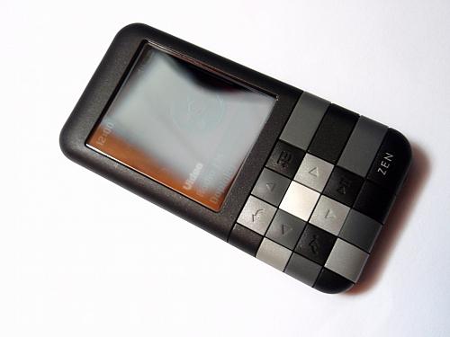Přehrávač ZEN Mozaic ála šachovnice ?